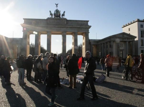 Iran-Mahnwache am 06.03.1022 in Berlin