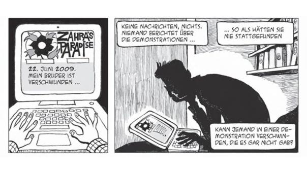 """""""Zahra's Paradise"""" war ursprünglich ein iranischer Comic-Blog im Internet. © Knesebeck"""