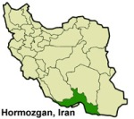 Hormozgan-Iran-map